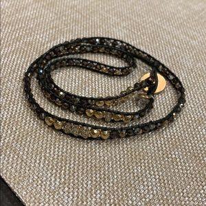 Classics Gold Tone and Metallic Wrap Bracelet